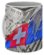 Swiss Flags  Coffee Mug
