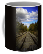 Switching Tracks Leaving Leafing Coffee Mug