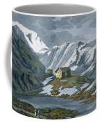Switzerland Hospice Of St. Bernard Coffee Mug by Italian School