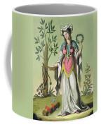 Sybil Of Delphi, No. 15 From Antique Coffee Mug