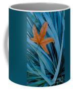 Sycamore Leaf And Sotol Plant Coffee Mug