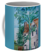 Sycamore Tree Lllustration Coffee Mug