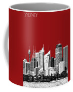 Sydney Skyline 1 - Dark Red Coffee Mug