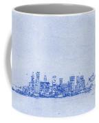 Sydney Skyline Blueprint Coffee Mug