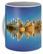 Sydney Skyline With Reflection Coffee Mug