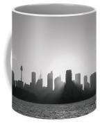 Sydney's Evening B/w Coffee Mug