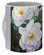 Sydneys Rose Oil Painting Coffee Mug
