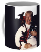 Sylver Short With Her Miniature Pinschers Christmas 2002-2008 Coffee Mug