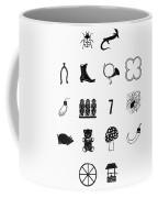 Symbols Good Luck Coffee Mug