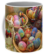Symbols Of Easter- Spiritual And Secular Coffee Mug by Gary Holmes