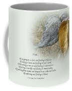 Sympathy Greeting Card - Poem And Milkweed Pods Coffee Mug