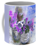 Symphony In Blue And Purple Coffee Mug