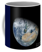 Synthesized View Of Earth Showing North Coffee Mug