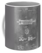 Syringe Patent Design Coffee Mug