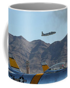 T-33 Shooting Star Flight Over Two Sabre's Coffee Mug