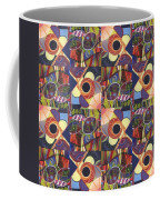 T J O D Tile Variations 10 Coffee Mug