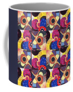 T J O D Tile Variations 14 Coffee Mug