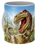 T-rex And Dinosaurs Coffee Mug
