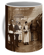 The Red Cross And St. John's Ambulance Brigade During Ww1 England Coffee Mug by The Keasbury-Gordon Photograph Archive
