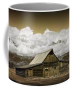 T.a. Moulton Barn In The Grand Tetons Coffee Mug