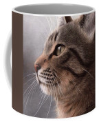 Tabby Cat Painting Coffee Mug