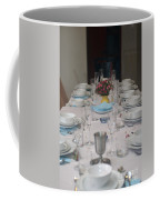 Table Set For A Jewish Festive Meal Coffee Mug by Ilan Rosen