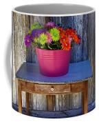 Table Top Flowers Coffee Mug