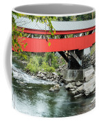 Taftsville Covered Bridge Vermont Coffee Mug by Edward Fielding