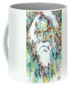 Tagore Watercolor Portrait Coffee Mug