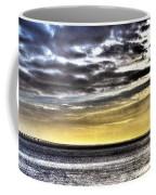 Big Clouds Over Tagus River Coffee Mug