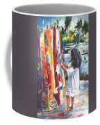 Tahitian Girl With Pareos Coffee Mug