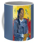 Tahitian Woman With A Flower Coffee Mug