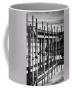 Tahoe Pier Reflection Coffee Mug
