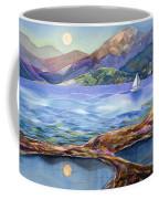 Tahoe Tides Coffee Mug by Jen Norton