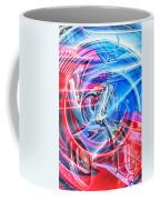 Tail Light Abstract Coffee Mug