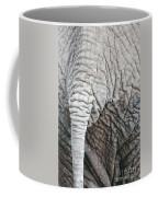 Tail Of African Elephant Coffee Mug
