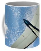 Tail Of The Airplane Coffee Mug