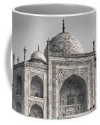 Taj Dressed In White Coffee Mug