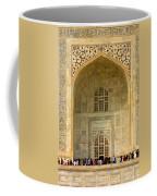 Taj Mahal Close Up Coffee Mug