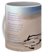 Take Me To The Ocean Blue Coffee Mug