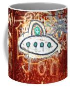 Take Me To Your Leader Coffee Mug by Scott Pellegrin