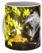 Take Time To Smell The Flowers Coffee Mug