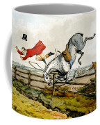 Taking A Tumble From Qualified Horses And Unqualified Riders Coffee Mug