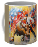 Taking On The Wall Street Bull Coffee Mug