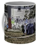 Taking Out The Garbage - Sarasota - Florida Coffee Mug
