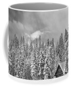 Taking Refuge - Grand Teton Coffee Mug by Sandra Bronstein