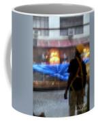 Taking Shelter From The Rain Coffee Mug