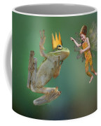 Talking With The Frog King Coffee Mug