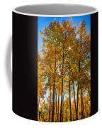 Tall Aspen With Sunstar Coffee Mug