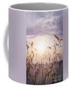 Tall Grass At Sunset Coffee Mug